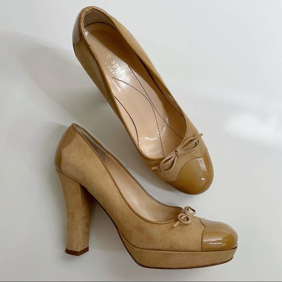 Kate Spade Two Toned Leather Pumps